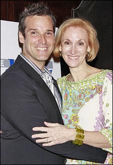 Hugh Panaro and casting director Nora Brennan