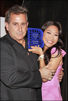 Anthony LaPaglia and Julie Chang