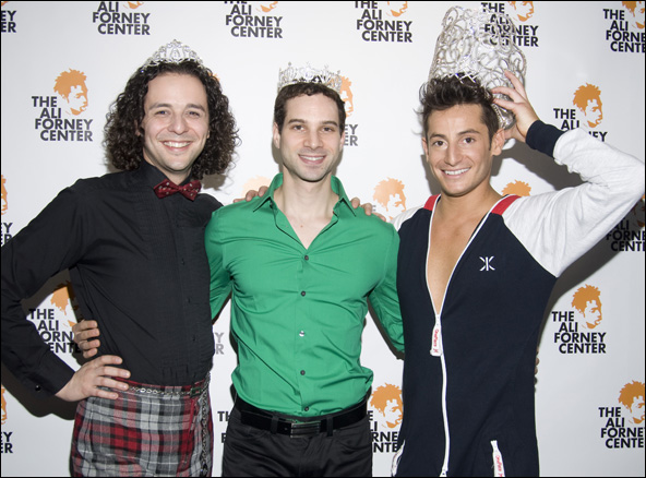 Anthony Hollock, Michael Cusumano and Frankie Grande