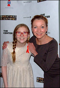 Bebe Wood and Julie White