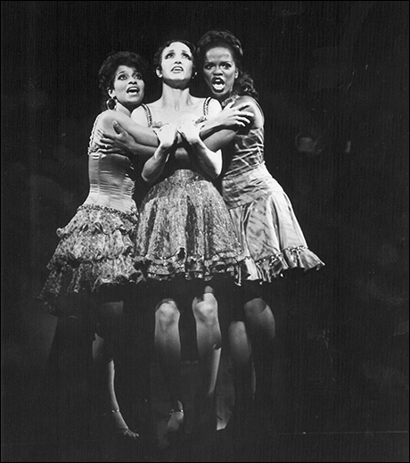 Debbie Allen, Bebe Neuwirth and Allison Williams in Sweet Charity