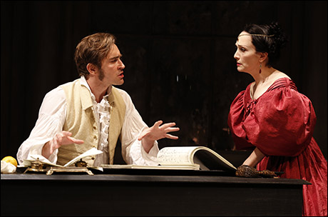 Lee Pace and Bebe Neuwirth in Golden Age