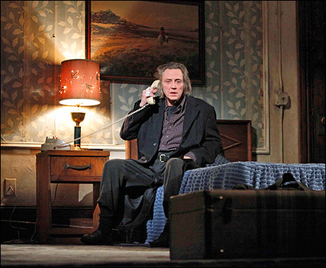 Academy Award winner Christopher Walken returned to Broadway for the first time in 10 years with Martin McDonagh's A Behanding in Spokane.