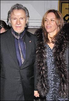 Harvey Keitel and Daphna Keitel