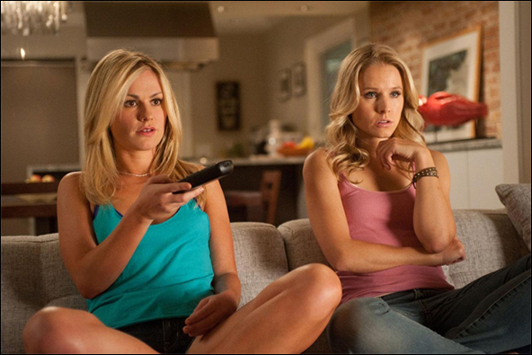 Anna Paquin and Kristen Bell in the 2011 film Scream 4