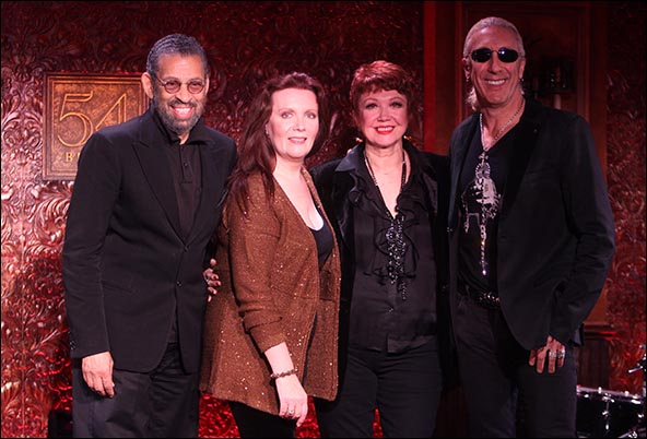 Maurice Hines, Maureen McGovern, Donna McKechnie and Dee Snider