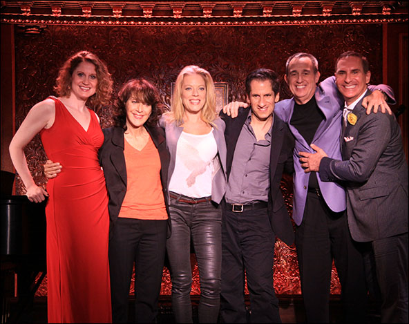 Christiane Noll, Andrea Martin, Sherie Rene Scott, Seth Rudetsky, David Friedman and Mark Nadler