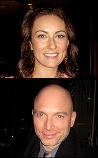 Laura Benanti and Michael Cerveris