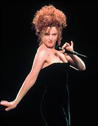 Tony Award winner Bernadette Peters.