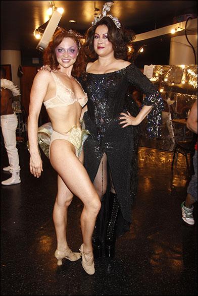 Kristen Beth Williams and Jennifer Tilly, 2012