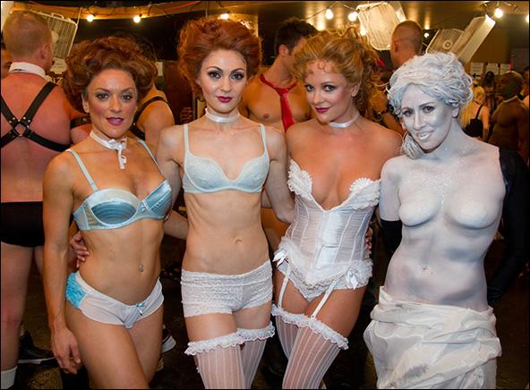 Jessie Green, Sara Antkowiak, Ashley Arcement and Amy Brewer, 2011