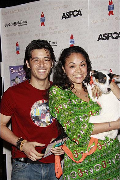George Akram and Karen Olivo, 2010