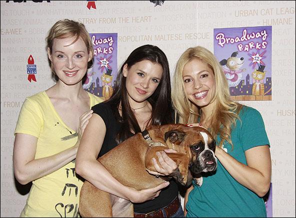 Erin Davie, Ramona Mallory and Leigh Ann Larkin, 2010