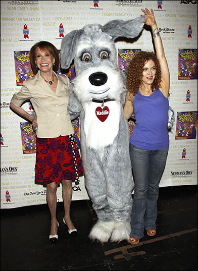 Mary Tyler Moore, Maddie and Bernadette Peters, 2011