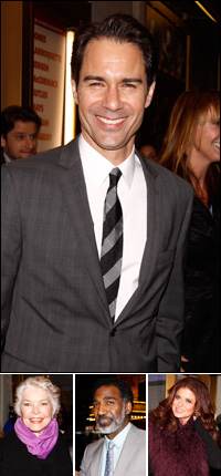 Eric McCormack; guests Ellen Burstyn, Norm Lewis and Debra Messing