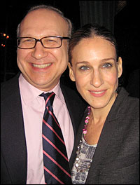 Director Pippin Parker and sister Sarah Jessica Parker