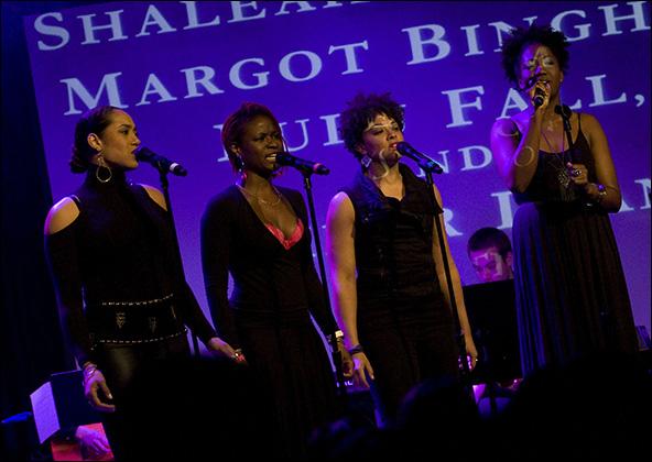 Margot Bingham, Lulu Fall, Shaleah Adkisson and Amber Iman