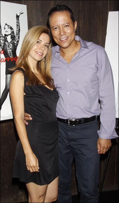 Anna Caroline Alvim and Yancey Arias