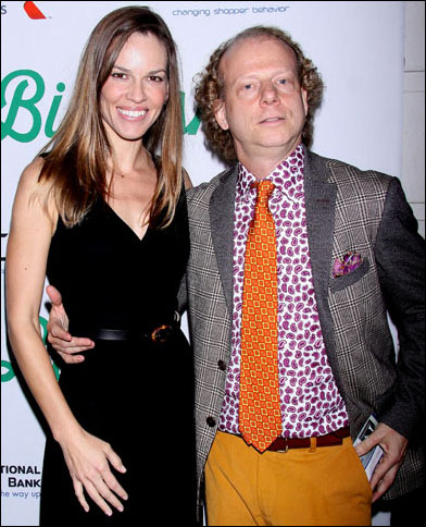 Hilary Swank and Bruce Cohen
