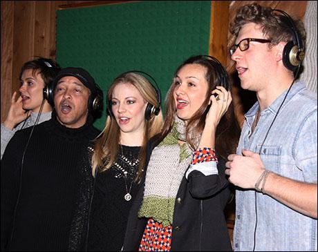 Broadway 39 s big fish cast heads into the recording studio for Big fish cast