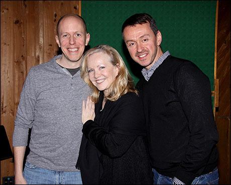 John August, Susan Stroman and Andrew Lippa