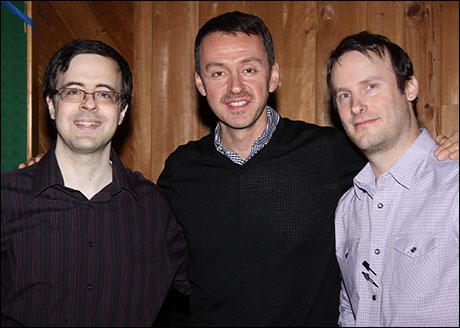 Van Dean, Andrew Lippa and Michael Croiter