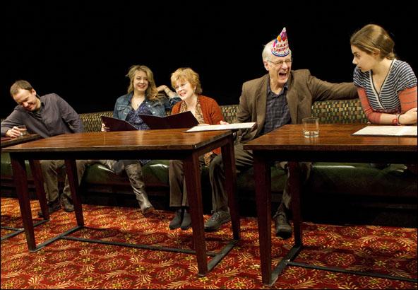 David Wilson Barnes, Jennifer Mudge, Anita Gillette, Tom Bloom and Rachel Resheff