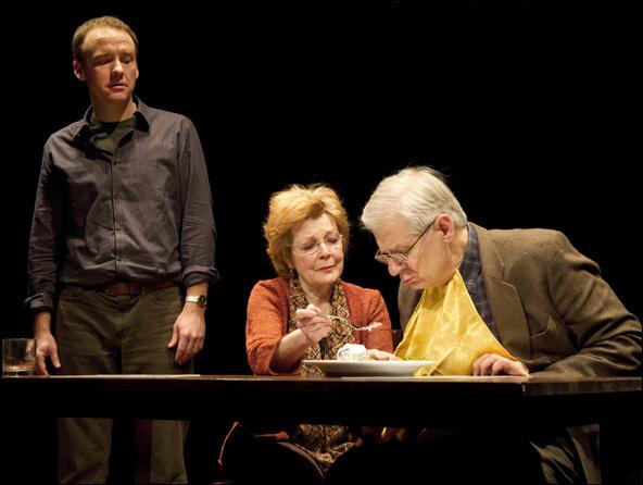 David Wilson Barnes, Anita Gillette and Tom Bloom