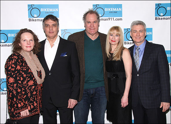 Maryann Plunkett, Robert Cuccioli, Jay O. Sanders, Angela Pierce and William Brown