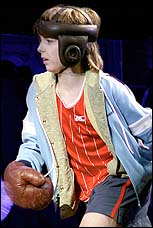 Liam Mower as the title character in <I>Billy Elliot