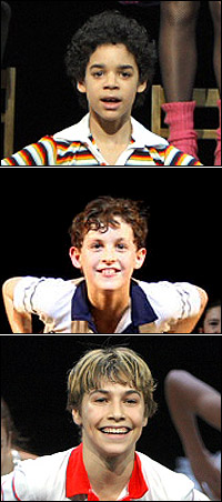 David Alvarez, Trent Kowalik and Kiril Kulish all rotate in the title role of <I>Billy Elliot