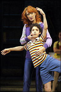 Original <I>Billy Elliot</I> Broadway stars Haydn Gwynne and David Alvarez