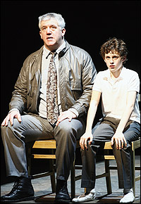 Gregory Jbara and Trent Kowalik in <I>Billy Elliot</I>