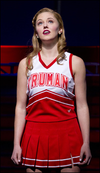 Taylor Louderman in <I>Bring It On: The Musical</i>