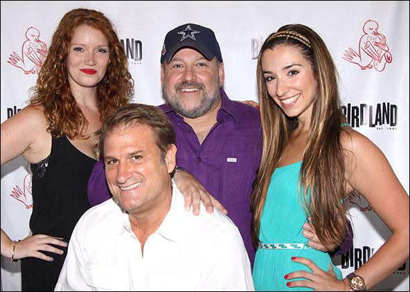 Courtney Markowitz, Jeff Calhoun, Frank Wildhorn and Ashley Loren