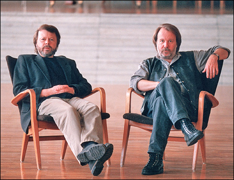 Creators Benny Andersson and Bj