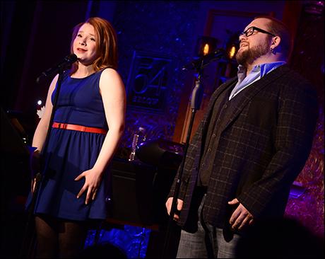Jenny Weisz and Aaron Walpole