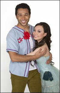Corbin Bleu and Anna Maria Perez de Tagle