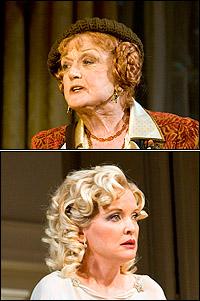 <I>Blithe Spirit</I> stars Angela Lansbury and Christine Ebersole