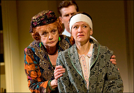 Angela Lansbury, Rupert Everett and Susan Louise O'Connor in Blithe Spirit, 2009