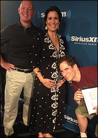 Seth with Kevin Ryan and Stephanie J. Block