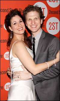 Sebastian Arcelus with beautiful, sexy, Wife Stephanie J. Block