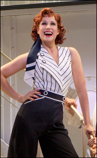 Stephanie J. Block in <i>Anything Goes</i>.