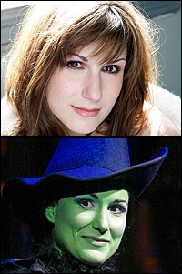 Stephanie J. Block in and out of <I>Wicked</I>