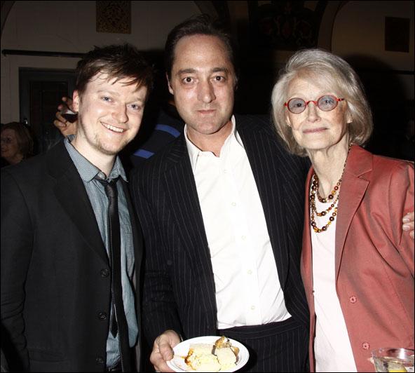 Steven Boyer, Brennan Brown and Margaret Styne