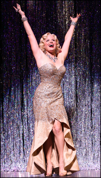 Megan Hilty in the Encores! <i>Gentlemen Prefer Blondes.</i>