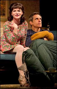Jennifer Jason Leigh and Ben Stiller