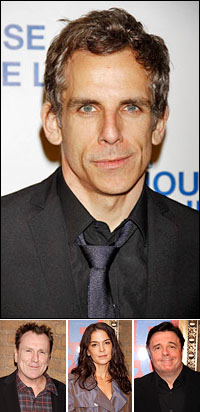 Ben Stiller; guests Colin Quinn, Annabella Sciorra and Nathan Lane