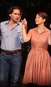 Steven Pasquale and Kelli O'Hara