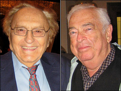 Fiddler on the Roof lost its librettist and composer within a week of one another.  Librettist Joseph Stein died Oct. 24, and composer Jerry Bock passed away Oct. 30.